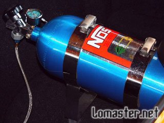 Установка и настройка системы впрыска закиси азота